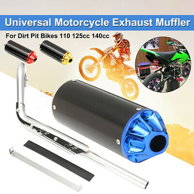 Pit Dirt Bike Performance CNC Exhaust Pipe System Muffler 110cc 125cc 140cc