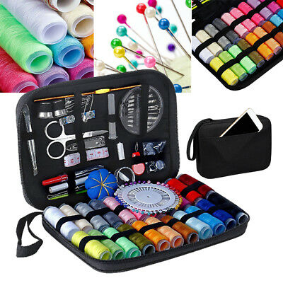 126pcs Sewing Kit Scissors Needle Thread For Home Stitching Hand Sewing Tool Set