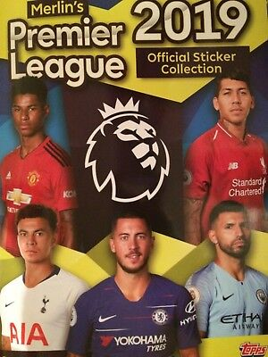 Merlin Premier League 2019 Stickers - Pick Your Qtys 5,10,20,30,40,50