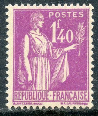 STAMP /  TIMBRE de FRANCE NEUF TYPE PAIX N° 371 ** /// COTE +14 €