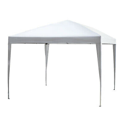 Outsunny 3 x 3m Garden Pop Up Gazebo Marquee Party Tent Wedding Canopy White