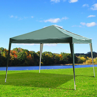 Outsunny 3 x 3m Garden Pop Up Gazebo Marquee Party Tent Wedding Canopy Green