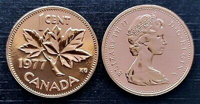 Canada 1988 Proof Like UNC Small Cent Penny!!