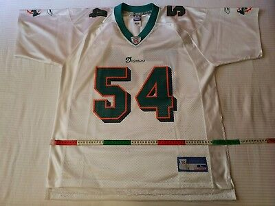 Nfl jersey Miami Dolphins 2000, No. 54 ZACH THOMAS