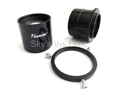 "Starguider 2"" field flattener system for astrophotography"