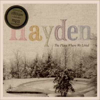 Hayden - The Place Where We Lived  RARE OOP ORIG 2009 Canadian Vinyl LP (New!)