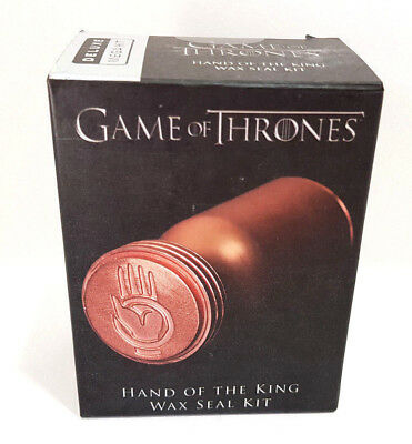 GAME OF THRONES: Hand Of The King Wax Seal Deluxe Mega Kit - BNIB Fast Post!