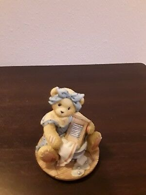Signed 1998 CHERISHED TEDDIES I Am All Washed Up Without You