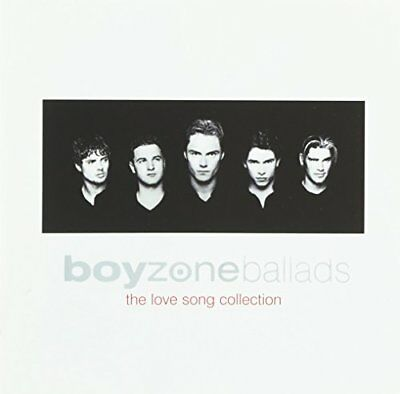 Ballads - The Love Songs Collection, Boyzone, Acceptable,  Audio CD, FREE & Fast