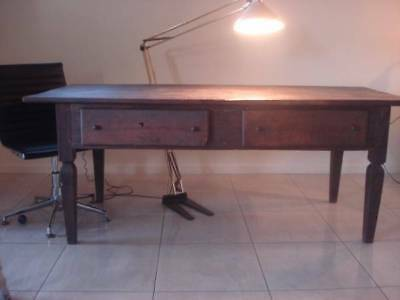Antique Brazilian Spanish Colonial Rosewood Dining Table