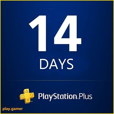*5 Minute Delivery* 14 Days Ps Plus - Ps3/ps4/psvita