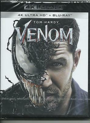 Venom 4K Ultra HD (2018) 2 Blu Ray