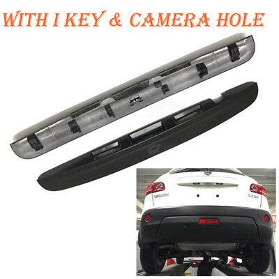 For Nissan Qashqai 2007 - 2014 Rear Tailgate Boot Handle - Key & Camera Hole