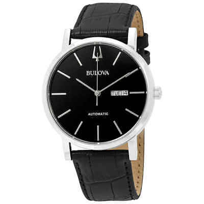 Bulova Classic Automatic Black Dial Men's Watch 96C131