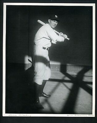 Bill Dickey 1942 Type 1 Press Original Photo New York Yankees