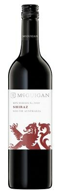 McGuigan `Bin 2000` Shiraz 2015 (6 x 750mL), Langhorne Creek, SA.