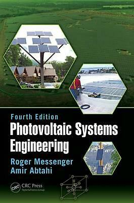 Photovoltaic Systems Engineering by Amir Abtahi Hardcover Book Free Shipping!