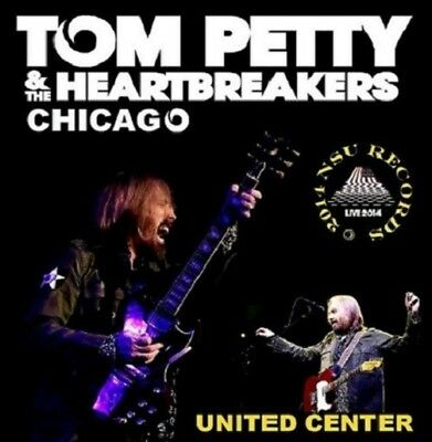 """Tom Petty & The Heartbreakers Live Chicago """"united Center"""" 2014 August 23 2 Cd"""