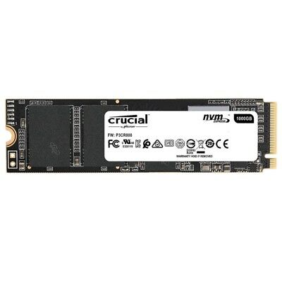 Crucial P1 SSD 500GB 1TB 3D NAND NVMe PCIe Gen 3 M.2 Internal Solid State Drive