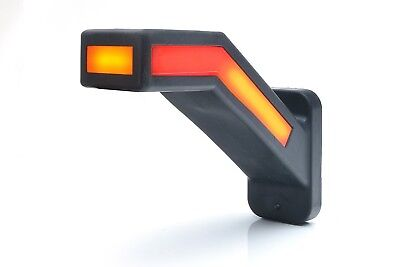 Outline and side marker LED lights with dynamic turn signal (2pcs, left+right)