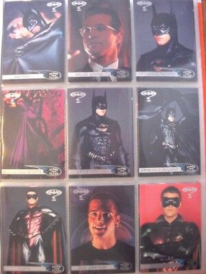 1995 Fleer Batman Set- 120 cards in pages and w/wrappers