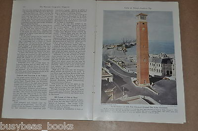 1942 magazine article, CAPETOWN, Cape of Good Hope, South Africa in WWII, color