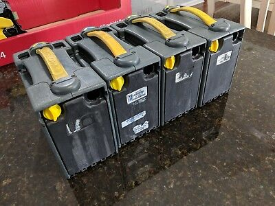 Lot of 4 MEI Cash Box Can Bill Acceptor Validator 50043690 CASHFLOW