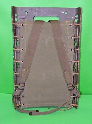 Original Wwii 1944 Us Army Wood Frame Backpack Red Lion Cabinet Co.