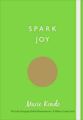 Spark Joy: An Illustrated Guide to the Japanese Art of Tidying by Marie Kondo Pa