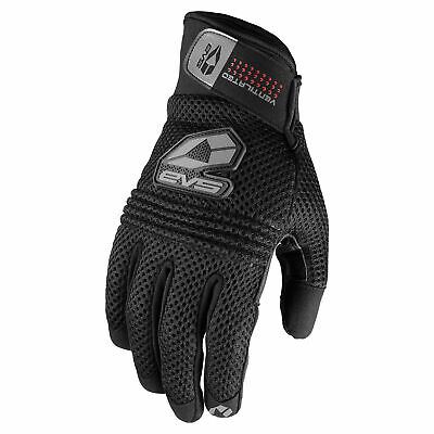 "/""NEW/""WOMENS ICON Woman/'s JUSTICE Mesh Gloves Size Small #33020244 Black"