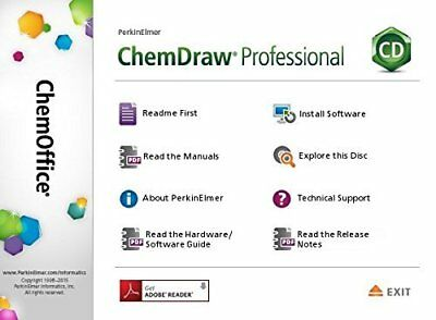 PerkinElmer ChemDraw Prime 16 Individual Link + Key For Windows Email Delivery