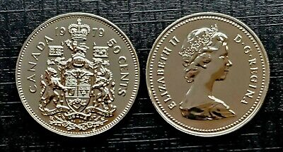 Canada 1979 Specimen Gem UNC Fifty Cent Piece!!