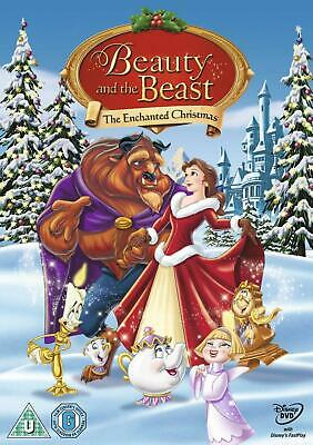 Beauty and the Beast: The Enchanted Christmas - DVD Region 2 Free Shipping!