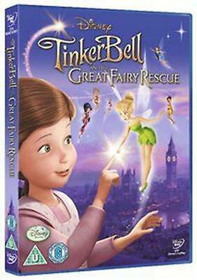 Tinker Bell and the Great Fairy Rescue - DVD Region 2 Free Shipping!