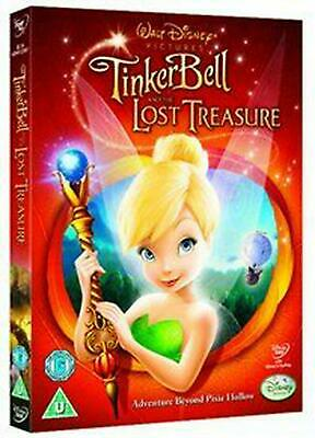 Tinker Bell and the Lost Treasure - DVD Region 2 Free Shipping!