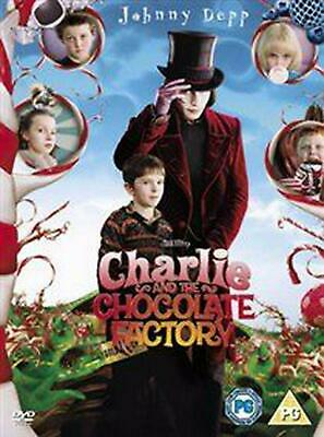 Charlie and the Chocolate Factory - DVD Region 2 Free Shipping!