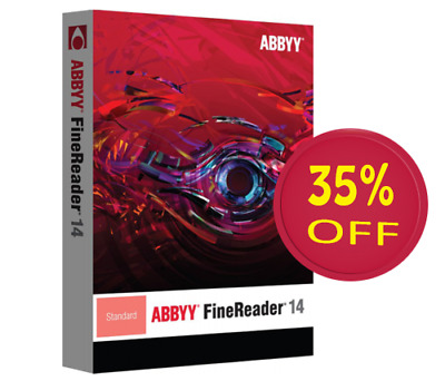 ABBYY FineReader 14 Enterprise (Portable) Converter/OCR/Sc (Instant Delivery)