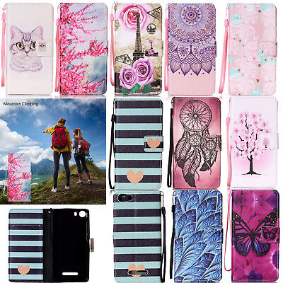 Magnetic Leather Card Wallet Flip Stand Strap Phone Case Cover For Wiko Lenny 2