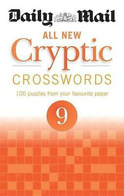 Daily Mail All New Cryptic Crosswords 9 by Daily Mail Paperback Book Free Shippi
