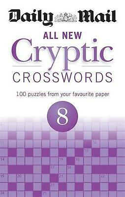 Daily Mail All New Cryptic Crosswords 8 by Daily Mail Paperback Book Free Shippi