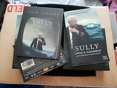 Sully édition FNAC (steelbook bluray 2D +DVD + livre de poche + copie digitale)