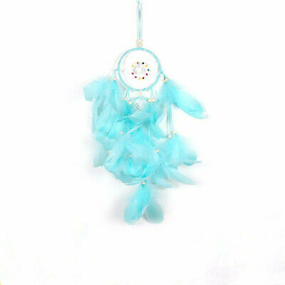 Dream Catcher Creative Network Beautiful Ornament Girls Home Decor Gift Blue