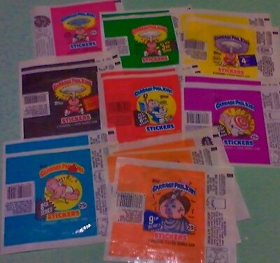 GARBAGE PAIL KIDS 1980's Wax Pack Wrappers