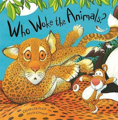 Who Woke the Animals? by David Conway Paperback Book Free Shipping!