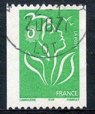 Stamp / Timbre France Oblitere N° 3742 ** Marianne De Lamouche / Roulette / Itvf