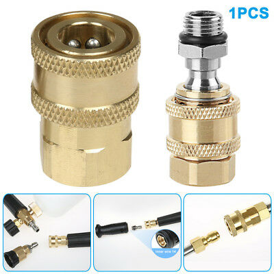 Brass Connector 1/4 Quick Joint High-pressure Washing Machine Accessory