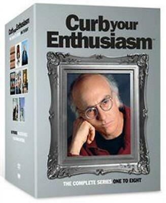 Curb Your Enthusiasm: Series 1-8 - DVD Region 2 Free Shipping!