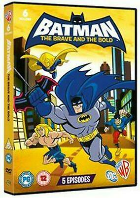 Batman - The Brave and the Bold: Volume 6 - DVD Region 2 Free Shipping!