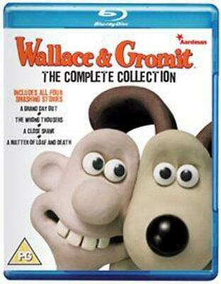 Wallace and Gromit: The Complete Collection - 20th Anniversary - Blu-ray Region