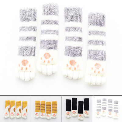 Accessories Table Foot Cover Cute Thick Non-slip Sleeve Set